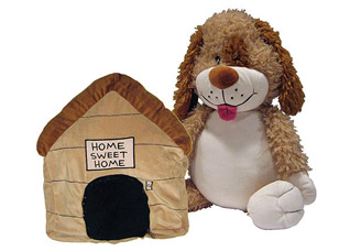 Игрушка-подушка Собачка Bradex DE 0036игрушки<br><br>