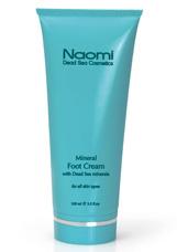 Крем для ног с минералами Мертвого моря Naomi  KM 0007Крема<br><br>