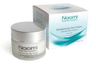 Крем для лица увлажняющий с минералами Мертвого моря (для сухой кожи) Naomi  KM 0009Крема<br><br>