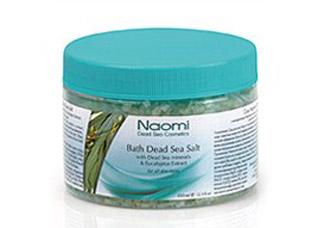 Соль Мертвого моря с экстрактом эвкалипта Naomi KM 0012Косметика Naomi<br><br>