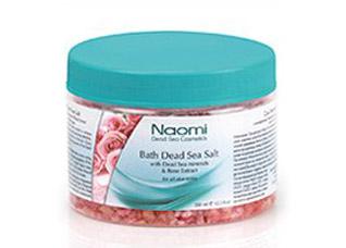 Соль Мертвого моря с экстрактом розы Naomi KM 0013Косметика Naomi<br><br>