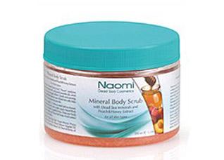 Пилинг-скраб для тела с минералами Мертвого моря Naomi KM 0017Косметика Naomi<br><br>