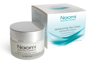 Крем для лица увлажняющий с минералами Мертвого моря (для нормальной и жирной кожи) Naomi KM 0020Крема<br><br>