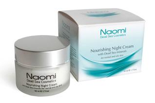 Крем для лица питательный с минералами Мертвого моря(для нормальной и жирной кожи) Naomi KM 0021Крема<br><br>