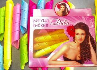 Бигуди гибкие ДиваЗаколки для волос<br><br>