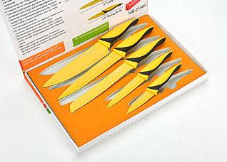 Набор антибактериальных ножей Mayer&amp;Boch MB-21489, 5 прНожи<br><br>