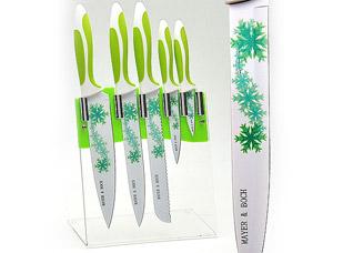 Набор антибактериальных ножей Mayer&amp;Boch MB-22457, 5 прНожи<br><br>