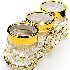 Набор стеклянных банок Super Kristal SK-3808Хранение продуктов<br><br>