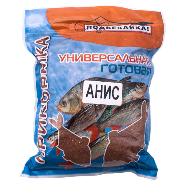 Прикормка для рыбы универсальная
